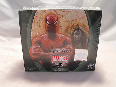 Vs System Web Of Spider-Man Complete Sealed Booster Box