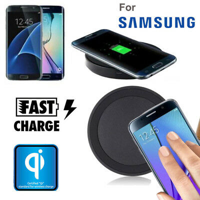 Qi Wireless Fast Charger Charging Pad Stand Dock For Samsung Galaxy S7/S7 Edge