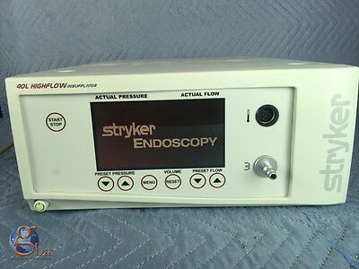 Stryker Endoscopy 40 L 40L High Flow Insufflator w/ Low Flow Mode 620-040-503