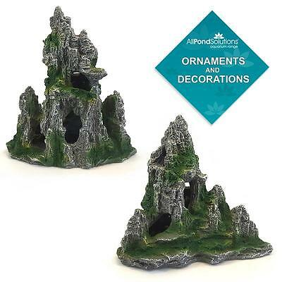 Mountain Rocks Cave Ornament - Aquarium Fish Tank - Decoration / Feature