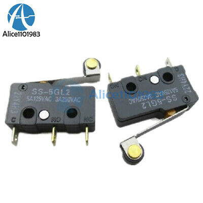 2PCS SS-5GL2 Limit Switch 3 Pins Microswitch