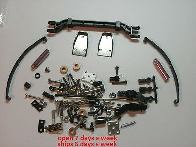 All Tamiya Tractor Complete Front Axle Suspension Scania Globe King Knight #1