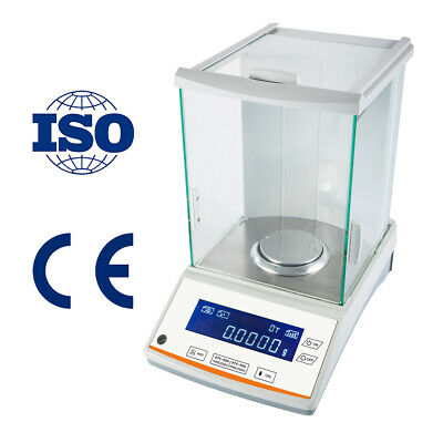 200 / 0.0001g 0.1mg Digital Precision Scale Lab Analytical Balance With CE