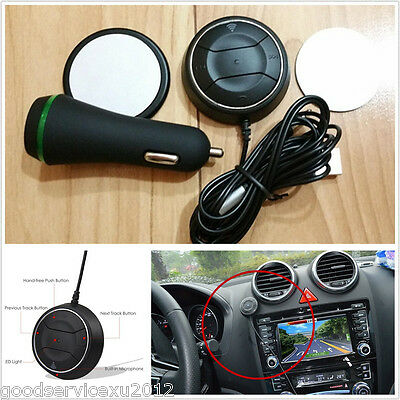Autos Wireless Bluetooth 4.0 Receiver NFC function 3.5AUX Cable 2.1A USB Charger