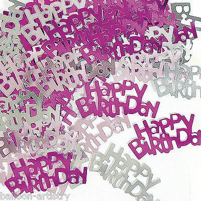 2 Packs Happy Birthday Party Confetti Foil Table Sprinkles PINK