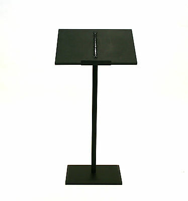 PO-61 Black Metal lectern, podium, Speaker stand, lecturn, Stage Stand