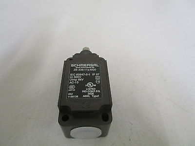 SCHMERSAL LIMIT SWITCH ZS 336-11z-M20 *NEW OUT OF BOX*