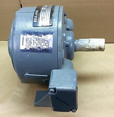Reuland 0Bfm-E16N21-00 44B1 Magnetic Brake 15 Lb Ft Torque 480V New Condition