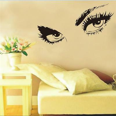 Audrey Hepburn Sexy Eyes Art Wall Stickers Decals Removable Home Decoration LG