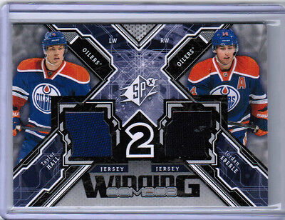 13/14 UD SPX HOCKEY WINNING COMBOS DUAL JERSEY CARDS (WC-XX) U-Pick From List