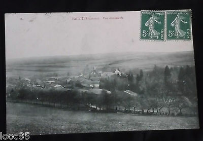 CPA 08 - Tailly - Vue d'ensemble - 1909 - Ardennes -