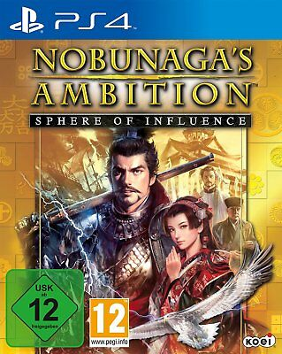Nobunagas Ambition - SPHERE OF INFLUENCE PS4 PlayStation 4 NIP