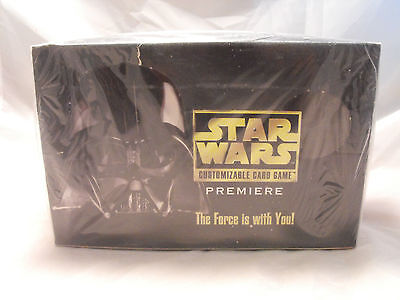 Star Wars Ccg Black Border Premiere Complete Sealed Booster Box Of 36 Packs