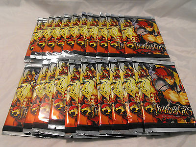 Thundercats Trading Cards, Lot Of 20 Sealed Packs