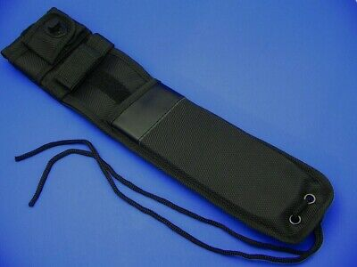 Carry-All horizontal or vertical position Black Nylon Fixed Blade Knife Sheath