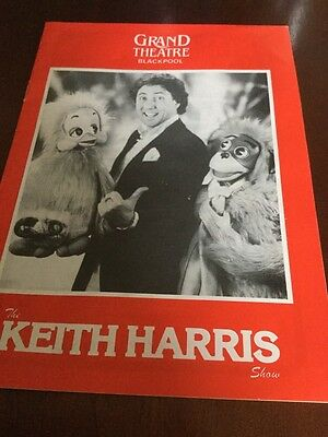 Theatre programme Grand Theatre Blackpool 1983 Keith Harris