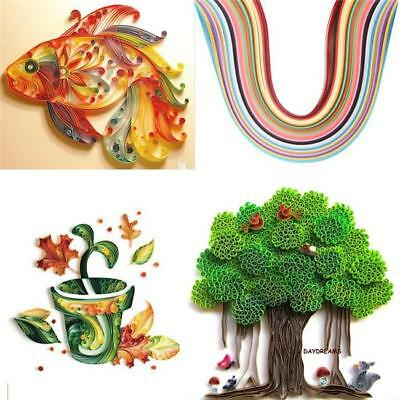 Chic 260Pcs Stripes Paper Quilling Template Board Papercraft Tool Scrapbooks LG