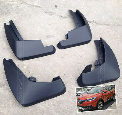 FRONT and REAR FIT FOR RENAULT KADJAR MUDGUARDS MUD FLAPS SPLASH GUARDS MUDFLAPS