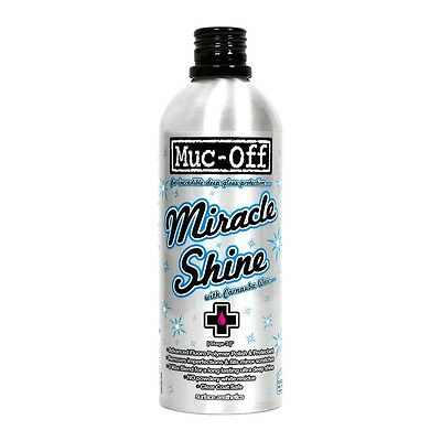 Muc Off Motorcycle Bicycle Miracle Shine Gloss Protection With Carnauba Wax M947