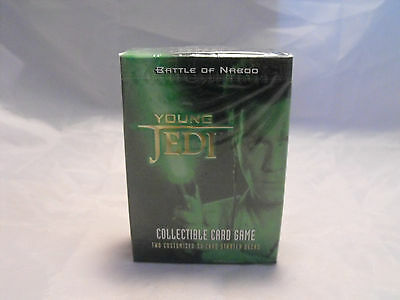 Star Wars Young Jedi Ccg Battle Of Naboo Starter Deck