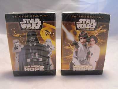 Star Wars Tcg Pair Of Light And Dark Side A New Hope Starter Decks