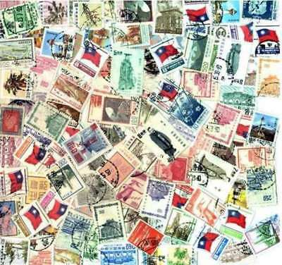 Taiwan, China  Stamp Collection - 100 Different Stamps