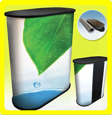 Custom Fullcolor Podium Table Counter Stand Trade Show Display - S1