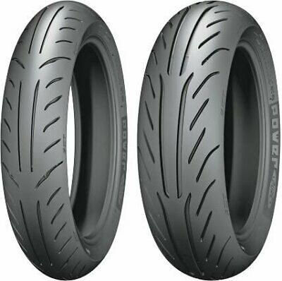 Michelin Power Pure SC Scooter Bias Front & Rear Tire Set 120/70-12 & 130/70-12