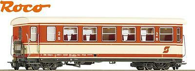 Roco H0e 34015 Narrow gauge Passenger Cars 2nd Class the ÖBB