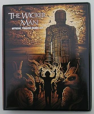 The Wicker Man Trading Card Binder with Full 54 Card Base Set + Binder Pages