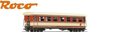 Roco H0e 34017 Narrow gauge Passenger Cars 2nd Class the ÖBB