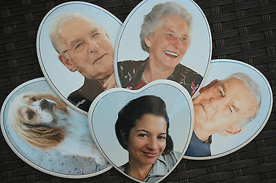 Memorial Remembrance Cremation Headstone Funeral PHOTO Plaque OUTSIDE NO FADING