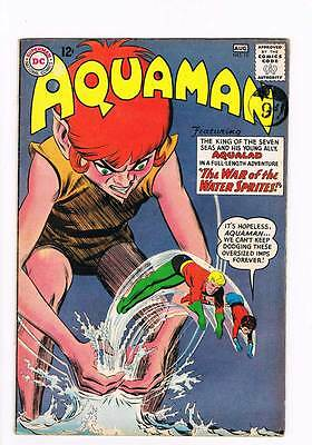 Aquaman # 10 War of the Water Sprites  ! grade 5.0 scarce book !!