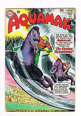 Aquaman # 12 The Menace of the Land-Sea Beasts  ! grade 4.0 scarce book !!