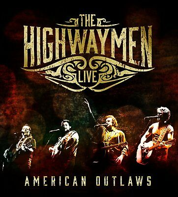 The Highwaymen - Live - American Outlaws (NEW 3 x CD & DVD)