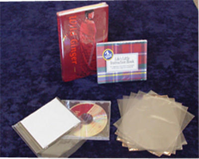 "500 pcs 6X9"" Heat Shrink Film Wrap Flat Bags w/ Vent Hole DVD Retail Packaging"