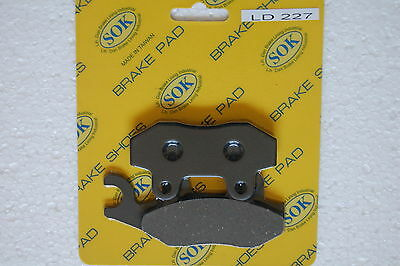 FRONT BRAKE PADS fit KYMCO Agility 50 125, 06-16 Agility RS50 RS125