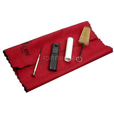 Cork Grease Cloth Mouthpiece Brush Reed Case Screwdriver for Clarinet Sax G0N4