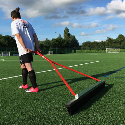 Hand Drag Brush for football pitch care - High Quality -
