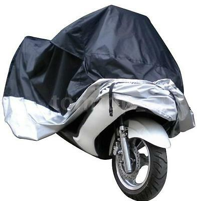 Motorcycle Motor Bike Scooter Waterproof UV Dust Protector Rain Cover L New R0J5