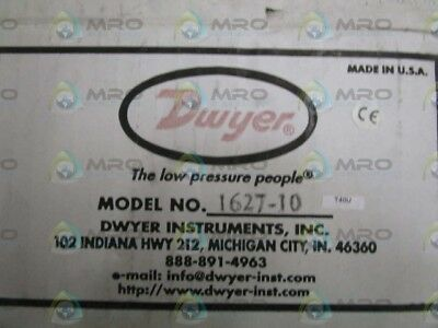 Dwyer Differential Pressure Switch 1627-10 *new In Box*