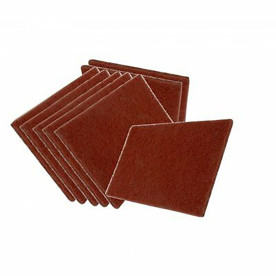 10 Scuff Pad Abrasive Surface Red Scotch Type Cleaning Preparation Finishing