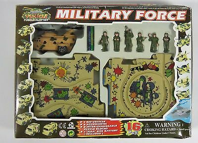 Military Force Cargo Aircraft Vehicle Puzzle set