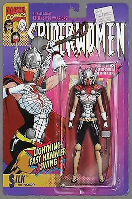 Silk #8 Christopher Action Figure Variant Marvel NM Comic Book Thor Spider-Women