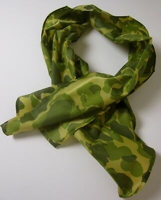 Wwii Us Army Airborne Paratrooper Parachute Camo Scarf-Large