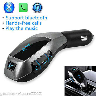 Autos Wireless Bluetooth X5 Music Player FM LCD Screen Radio Adapter USB Charger