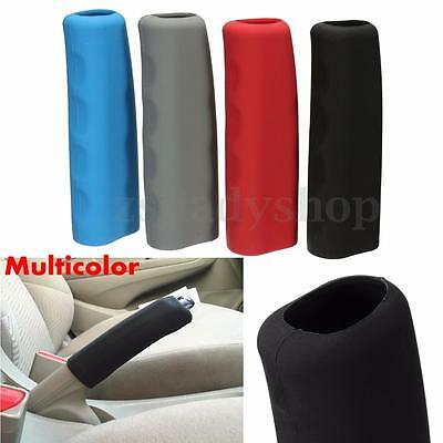 Universal Car Silicone Anti Slip Parking Hand Brake Handle Lever Cover Sleeve