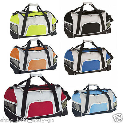 Large Mens & Womens Travel Overnight Hand Luggage Bag Gym Sports Holdall Duffle