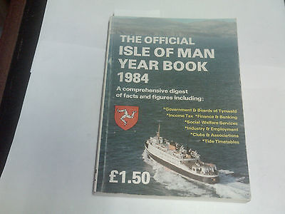 Isle Of Man Official Year Book -1984