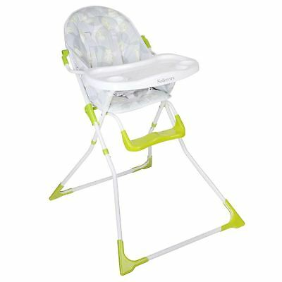 Safetots Tiny Charms Compact Foldable Highchair - Baby Folding High Chair